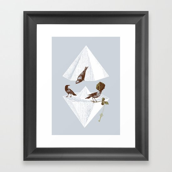 Guardian of Secrets Framed Art Print