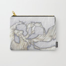 Birch Bark Silver Carry-All Pouch