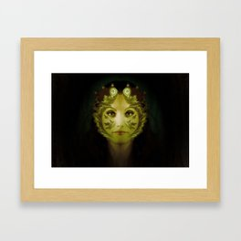 Gaia Nouveau Framed Art Print
