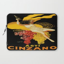 Vintage poster - Asti Cinzano Laptop Sleeve