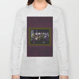 Hydrangea in Purple Long Sleeve T-shirt