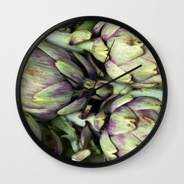 FRESH ARTICHOKE Wall Clock