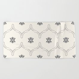 WILDFLOWER JASMIN GREY Beach Towel
