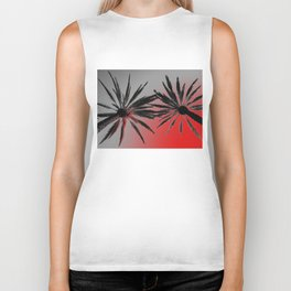 Palm Trees Wicked Biker Tank