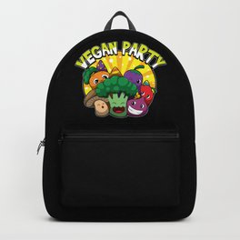 Vegan Party Backpack