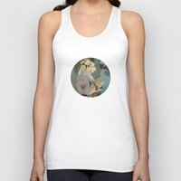 flora Tank Tops featuring Flora by Peter Campbell