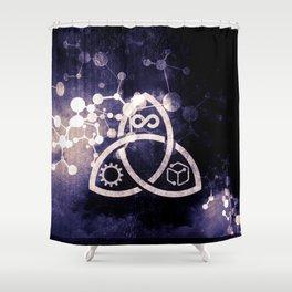 Raines Empire - Coalition Symbol Shower Curtain