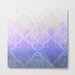 Ultra Violet Ombré Metal Print