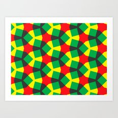 Terheijden Pattern Art Print