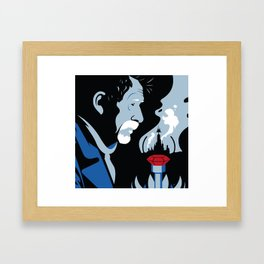 The War Doctor Framed Art Print