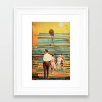 holiday Framed Art Prints featuring holiday by Laura Moctezuma