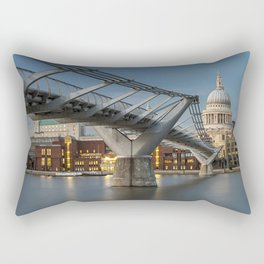 St Pauls Cathedral London Rectangular Pillow