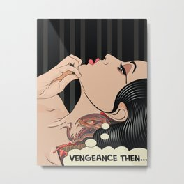 Lady Vengeance Metal Print