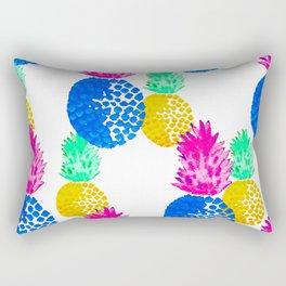 NEON POPINEAPPLE 3 Rectangular Pillow