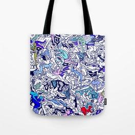 Kamasutra LOVE - Ultraviolet Purple Blue Tote Bag