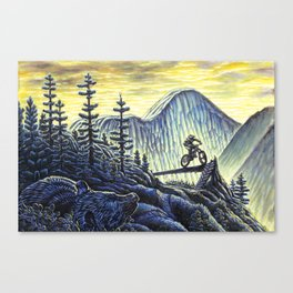 Greg's Dream Canvas Print