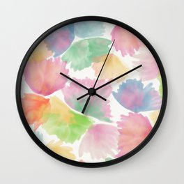 Color shells Wall Clock
