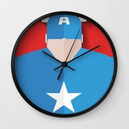 Capitão America Wall Clock