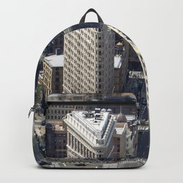 Flatiron from above. Backpack