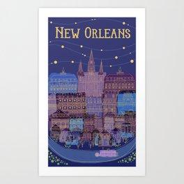 Queen City Art Print