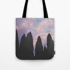 Shadow Trees Tote Bag