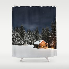 Cozy Cabin Shower Curtain