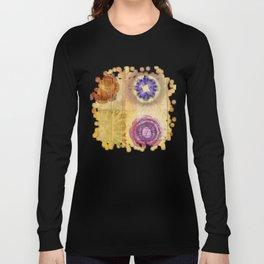 Seorita Weave Flower  ID:16165-024830-56081 Long Sleeve T-shirt