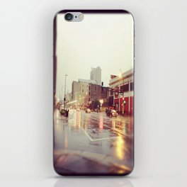 Minneapolis Rainy Day iPhone Skin