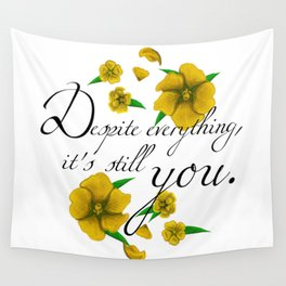 Despite Everything Wall Tapestry