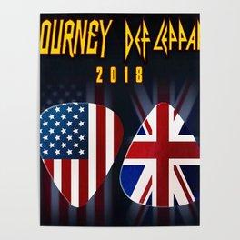 tour journey 2018 leppard ori Poster