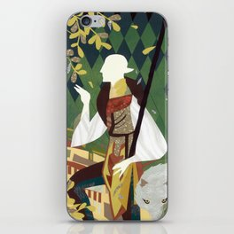 Dragon Age Solas Tarot Paper Art iPhone Skin