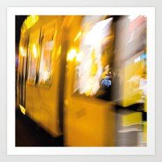 M Tram in Berlin Art Print