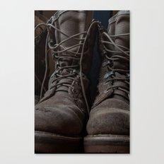 Military Mark Canvas Print
