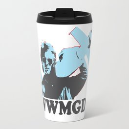 What would MacGyver Do? Travel Mug