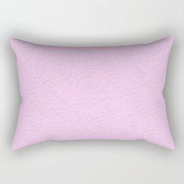 Lilac-pink texture . Roses Rectangular Pillow