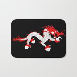 Dragon-A variation on the flag of Bhutan. Bath Mat