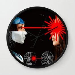 Laser Bot by GEN Z Wall Clock