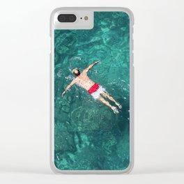Polignano a mare Clear iPhone Case