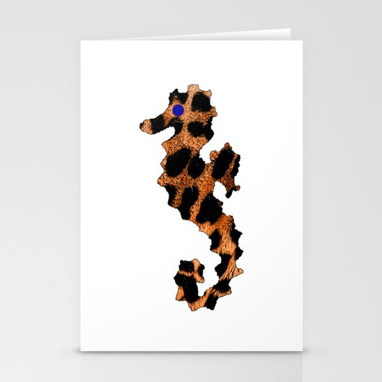 SEA LEOPARD Stationery Cards