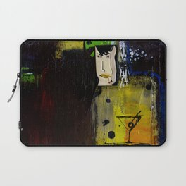 At The Bar And Bistro by Kathy Morton Stanion Laptop Sleeve