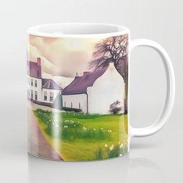 Springhill house, Moneymore, Ireland. (Painting.) Coffee Mug