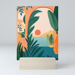Tropical Evening Mini Art Print
