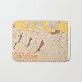 Vintage poster - Troupe de Mlle Eglantine Bath Mat