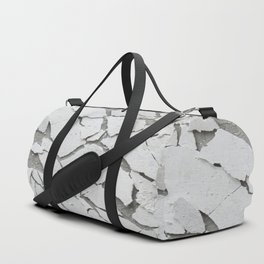 Abstract concrete wall Duffle Bag