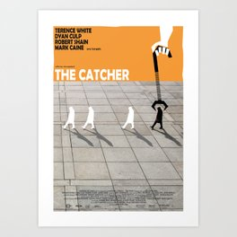 THE CATCHER Art Print