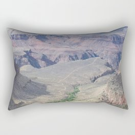Grand Canyon path Rectangular Pillow