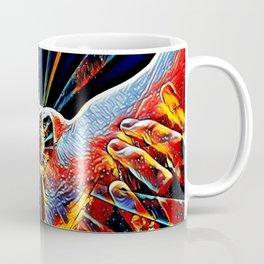 5809s-KMA_6109 Celebrate the Feminine Creation Power L'Origine du Monde Explicit Abstract Sex Art Coffee Mug
