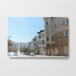 view from a cable car Metal Print