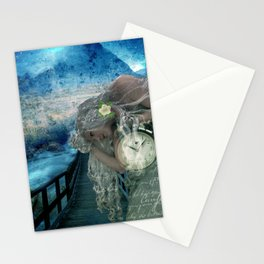 Aliyah -'she heard the call to ascend the Mt and she knew the time was now' Stationery Cards