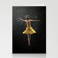 dancer Stationery Cards featuring DANCER by Ryan Laing